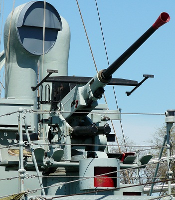 The fully restored Bofors