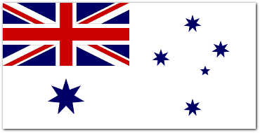 White Ensign of the Royal Australian Navy since 1967